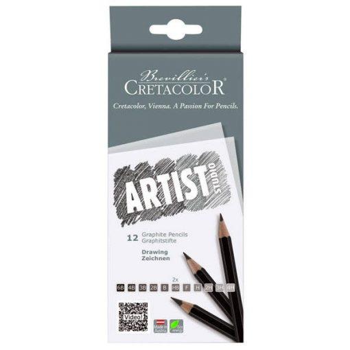 Cretacolor grafitceruzakészlet 12 db-os