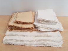 Merített papír antik