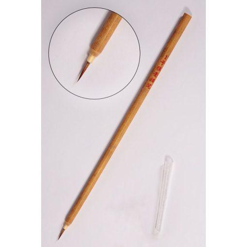 Kalligráfia ecset őz szőr, bambusz nyél