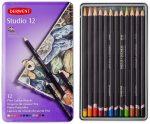 Derwent Studio kezdő színes ceruzakészlet  fémdobozos