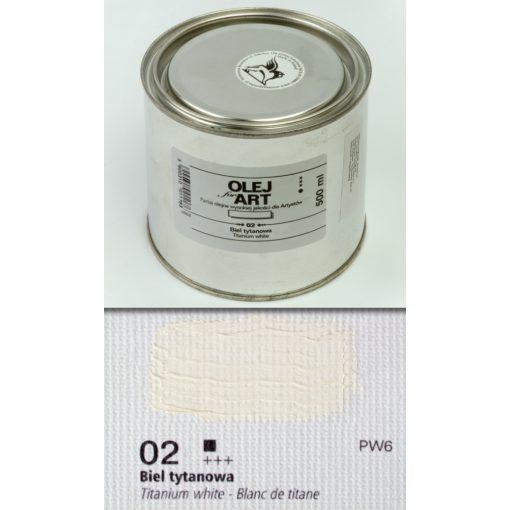 Reneszánsz 500 ml-es olajfesték