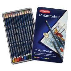 Derwent Watercolour akvarell ceruzakészlet fém dobozban