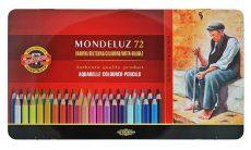 KOH-I-NOOR Mondeluz akvarell készlet 72db-os