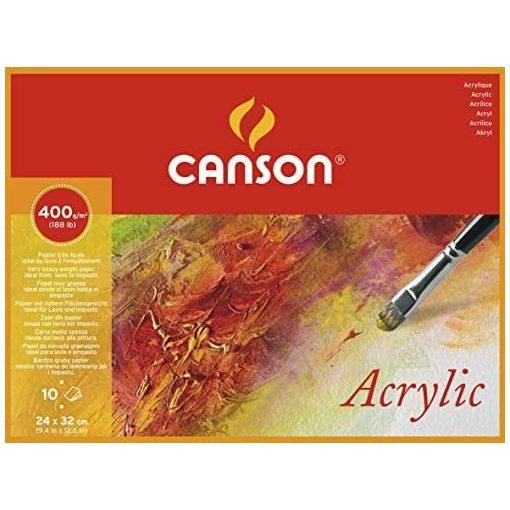 Canson akril tömb
