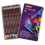 Derwent Coloursoft színes ceruzakészlet  fémdobozos