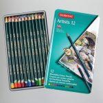 Derwent Artists színes ceruzakészlet fémdobozban