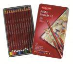 Derwent Pastel Pencils ceruzakészlet  fémdobozos